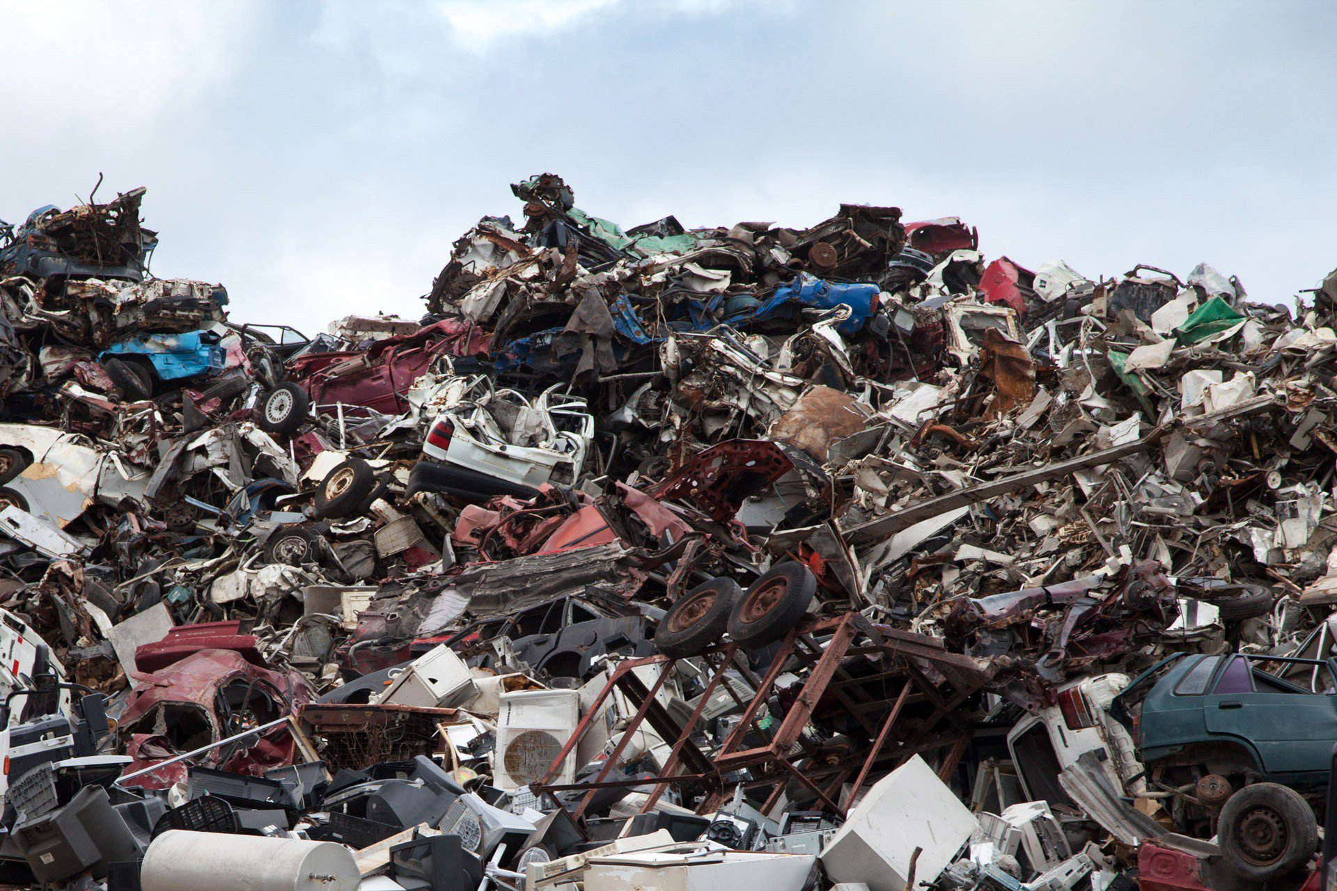 automotive scrap yard