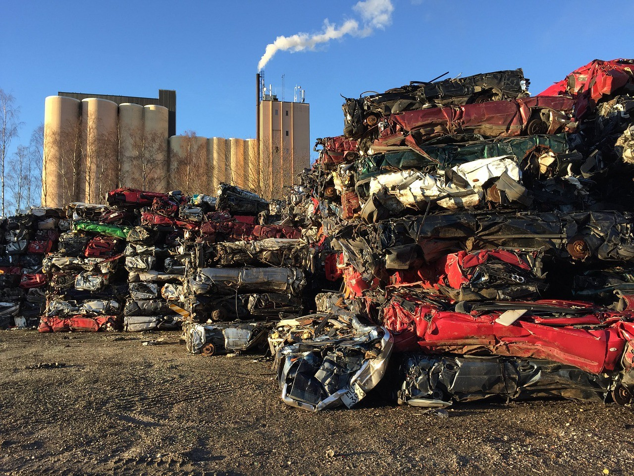 Automotive recycling