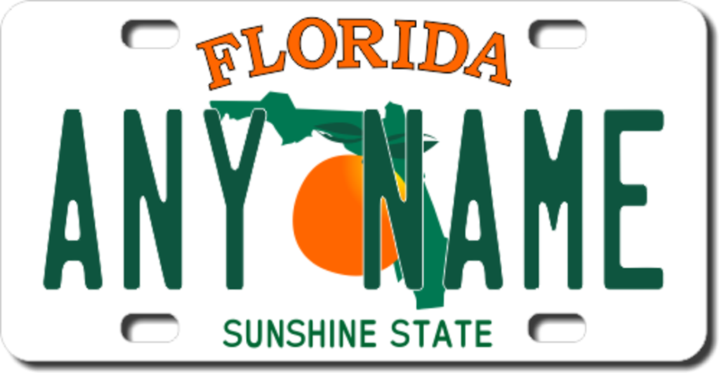 How To Register Car In Florida- Specialty License Plates