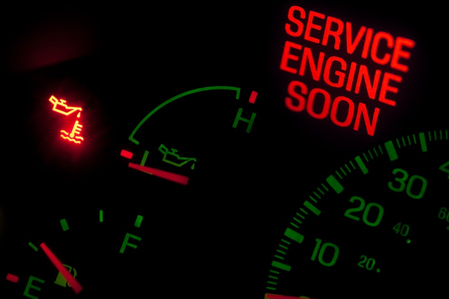 Your Service Engine Soon Light or Check Engine Light Comes On; What Happens Next?