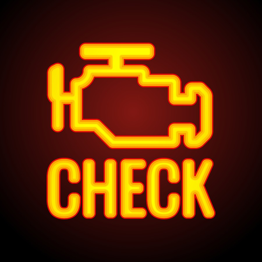 Safety in Driving a Car with a Check Engine Lights On
