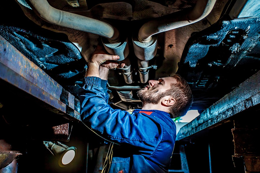 Rattle Noise Under the Car – Make Sure You Perform Maintenance on Your Exhaust System!