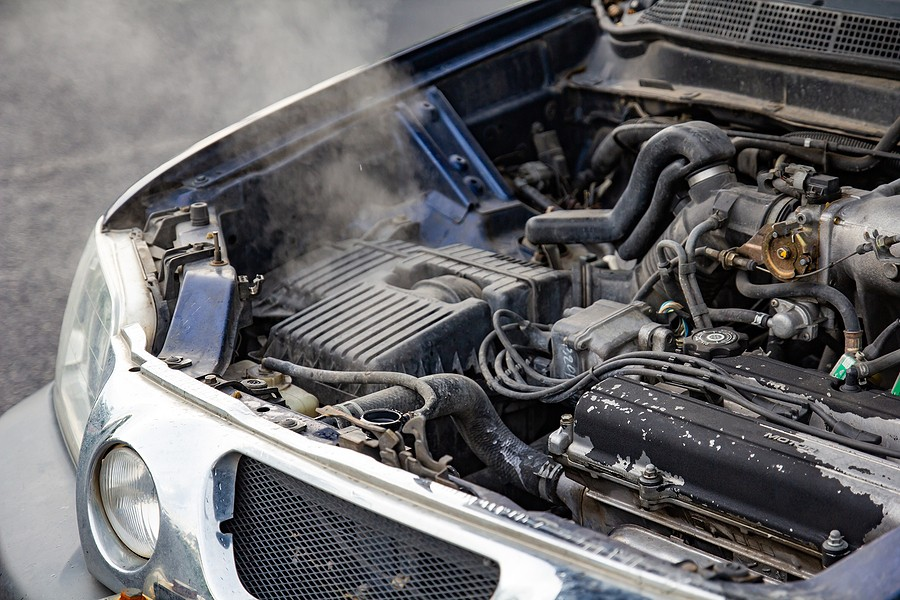 Car Overheating? What to Do to Stop It From Going Up in Flames!