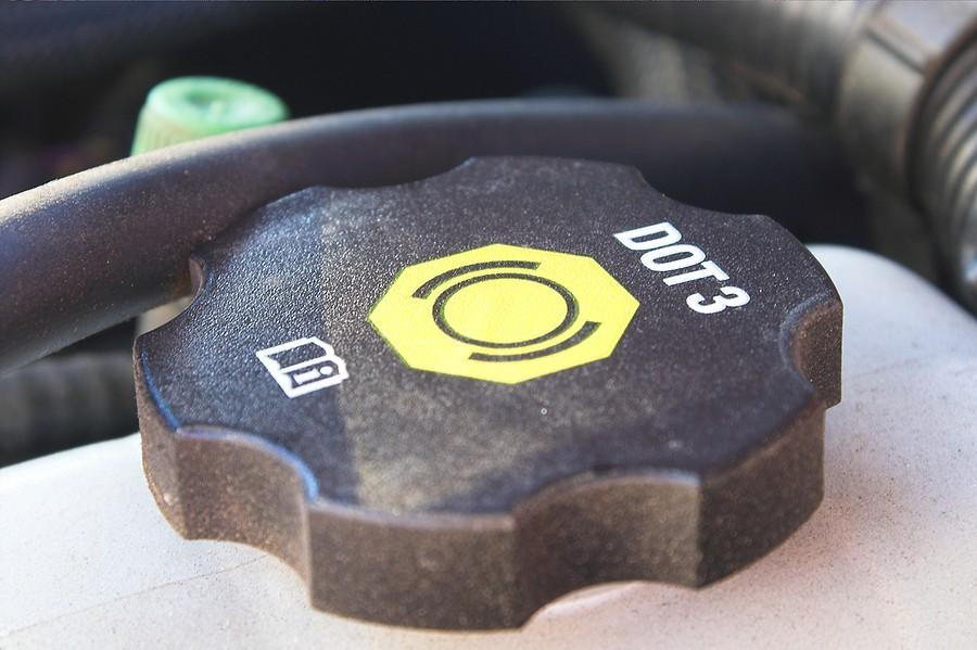 Low On Brake Fluid Light On? Should You Be Worried