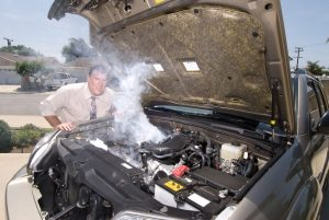 how to cool an overheated engine